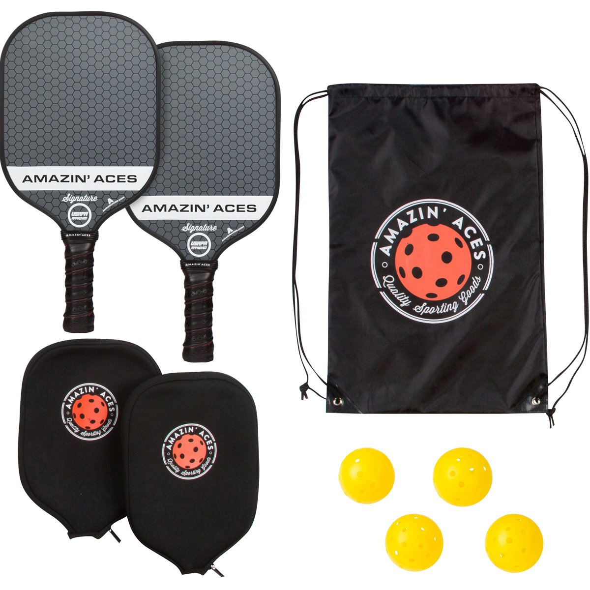 Amazin Aces Signature pickleball paddle